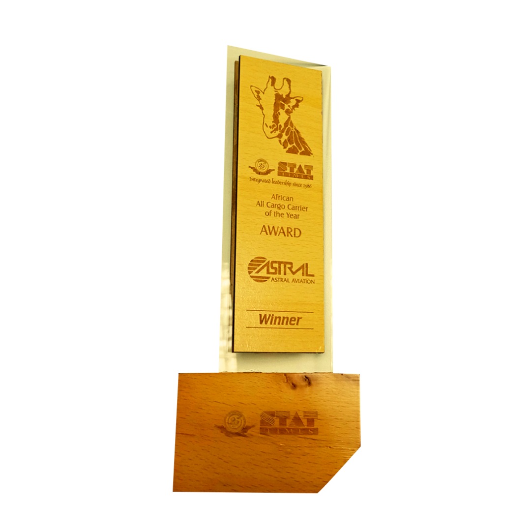 Winner Africa All Cargo Carrier of the year 2011